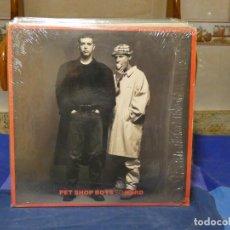 Discos de vinilo: MAXI SINGLE UK 1990 MUY BUEN ESTADO PET SHOP BOYS SO HARD MUY BONITO. Lote 289812718