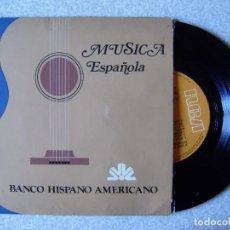 Discos de vinilo: MUSICA ESPAÑOLA AIRES DE GALICIA / BELLA ESPAÑA / LA NEGRA TOMASA / MARCHA SOLEMNE DO ANTERGO REINO. Lote 271601953