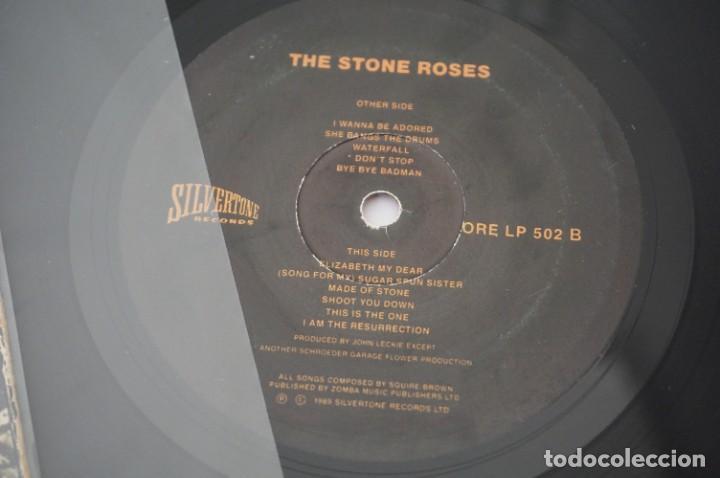 Discos de vinilo: 6/21# VINILO 12´´ - MAXI-SINGLE - The Stone Roses – The Stone Roses / Silvertone ORE LP 502 - Foto 3 - 271619288