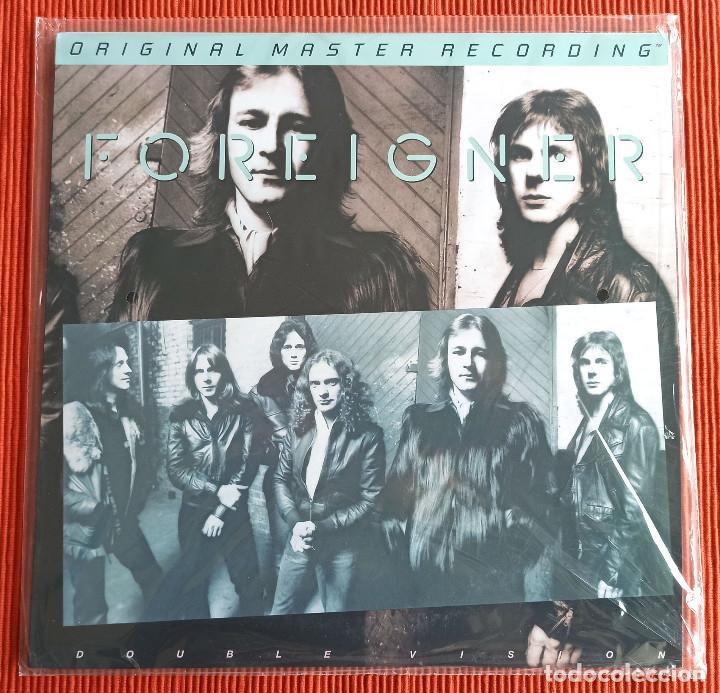 FOREIGNER - DOUBLE VISION 180G 33RPM MFSL LP EDICIÓN LTD Y NUMERADA HALF-SPEED MASTERED NUEVO (Música - Discos - LP Vinilo - Pop - Rock - Internacional de los 70)