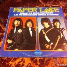 Discos de vinilo: PAPER LACE. BILLY, NO SEAS UN HÉROE. LA NOCHE EN QUE MURIÓ CHICAGO..LP. 1974. Lote 271623338