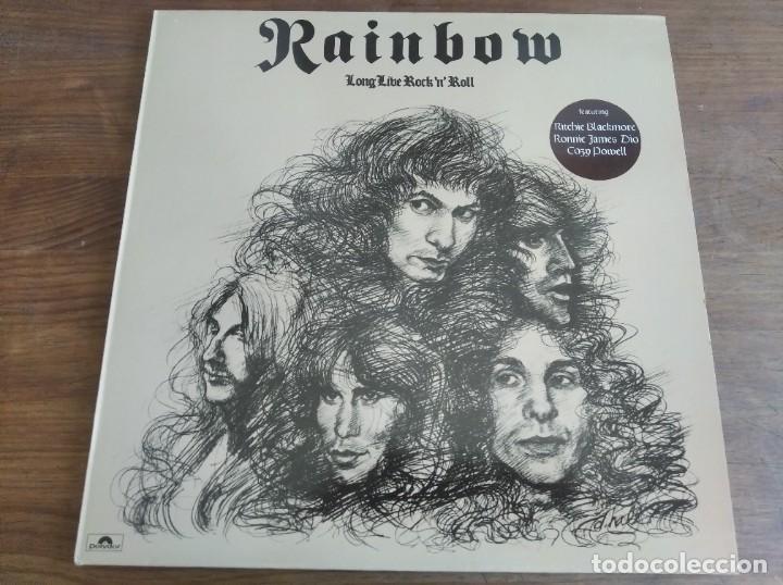 RAINBOW – LONG LIVE ROCK 'N' ROLL*** RARO LP RE ESPAÑOL 1984 GRAN ESTADO **** (Música - Discos - LP Vinilo - Heavy - Metal)