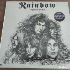 Discos de vinilo: RAINBOW – LONG LIVE ROCK 'N' ROLL*** RARO LP RE ESPAÑOL 1984 GRAN ESTADO ****. Lote 271623448