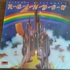 Discos de vinilo: RAINBOW – RITCHIE BLACKMORE'S RAINBOW ** RARO LP RE ESPAÑOL 1984 GRAN ESTADO ****. Lote 271624468