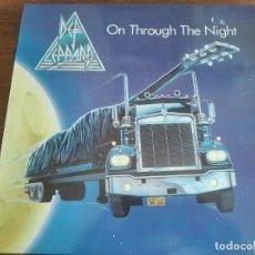 Discos de vinilo: DEF LEPPARD – ON THROUGH THE NIGHT ** RARO LP HOLANDA 1980 GRAN ESTADO **** HARD ROCK. Lote 271625313