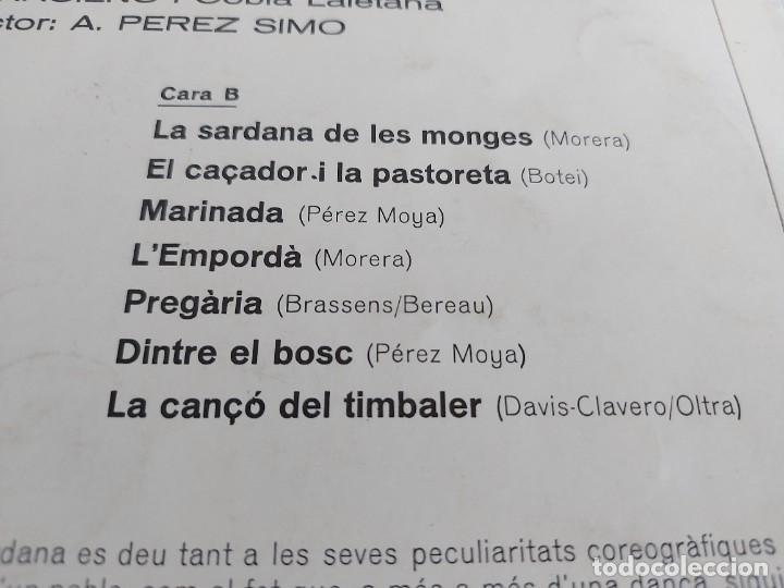 Discos de vinilo: ORFEÓ GRACIENC I COBLA LAIETANA / SARDANES PER A COR I COBLA / LP-VERGARA-1968 / MBC. ***/*** - Foto 4 - 271625553