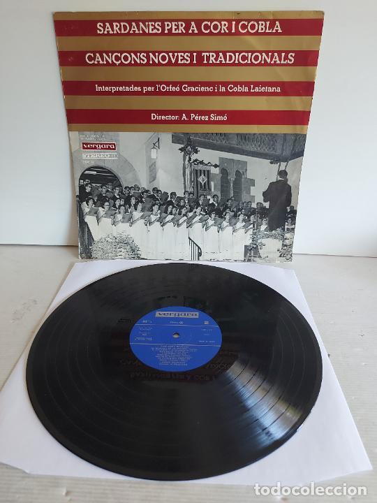 ORFEÓ GRACIENC I COBLA LAIETANA / SARDANES PER A COR I COBLA / LP-VERGARA-1968 / MBC. ***/*** (Música - Discos - LP Vinilo - Country y Folk)