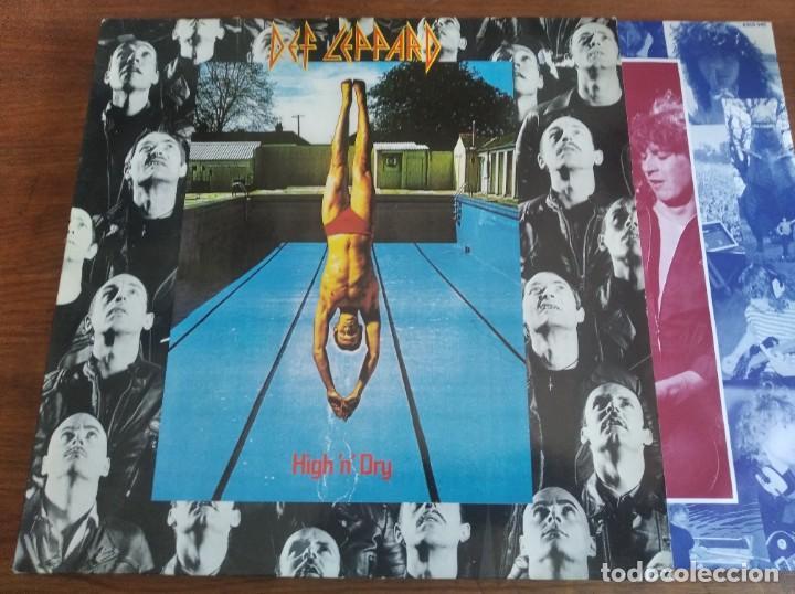 DEF LEPPARD – HIGH 'N' DRY ** RARO LP HOLANDA 1981 GRAN ESTADO **** HARD ROCK (Música - Discos - LP Vinilo - Heavy - Metal)