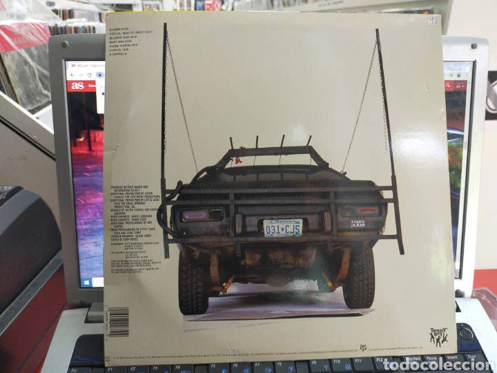 Discos de vinilo: Information society Maxi think u s.a. 1990 - Foto 2 - 271626193