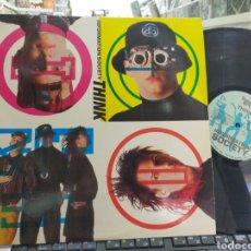 Discos de vinilo: INFORMATION SOCIETY MAXI THINK U S.A. 1990. Lote 271626193