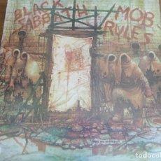 Discos de vinilo: BLACK SABBATH – MOB RULES ** RARO LP UK 1981 GRAN ESTADO **** HARD ROCK. Lote 271626273