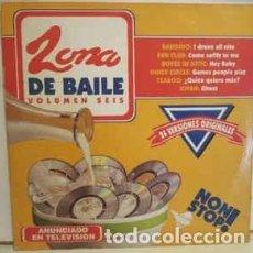 Discos de vinilo: ZONA DE BAILE VOLUMEN 6 DOBLE LP SPAIN 1994. Lote 271650093