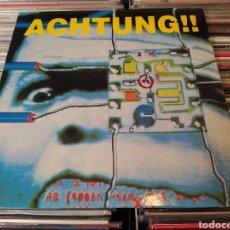 Discos de vinilo: ACHTUNG!!–STRAGGLER. MAXI VINILO 1991.. Lote 271650443