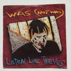 Discos de vinilo: WAS (NOT WAS) – LISTEN LIKE THIEVES / HELLO OPERATOR GERMANY,1992 FONTANA. Lote 16698788