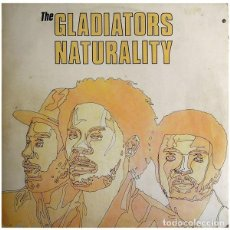 Discos de vinilo: GLADIATORS NATURALITY. Lote 271660198