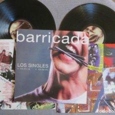 Disques de vinyle: BARRICADA: LOS SINGLES 1983-1996 (DOBLE VINILO)!! POLYGRAM 1995- JOYA DE COLECCIONISTA!!- MUY RARO!!. Lote 271665158