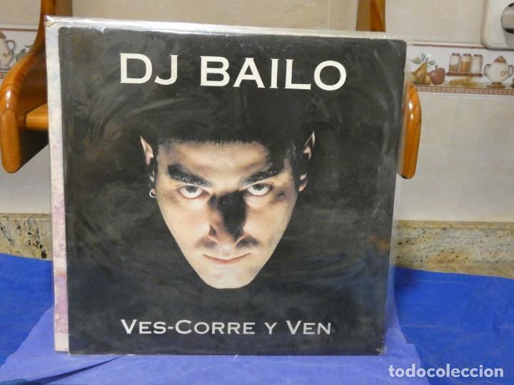MAXISINGLE D.J.BAILO VES-CORRE Y VEN 1994 VINILO MUY BUEN ESTADO (Música - Discos - LP Vinilo - Jazz, Jazz-Rock, Blues y R&B)