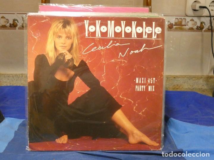 MAXISINGLE CECILIA NOAH YOKOMOYOKOLELE MUY BUEN ESTADO 1987 (Música - Discos - LP Vinilo - Jazz, Jazz-Rock, Blues y R&B)