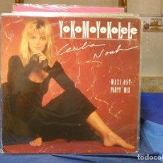 Discos de vinilo: MAXISINGLE CECILIA NOAH YOKOMOYOKOLELE MUY BUEN ESTADO 1987. Lote 271672008