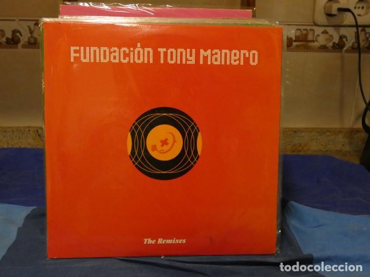 MAXISINGLE 2003 FUNDACION TONY MANERO REMIXES MUY BUEN ESTADO (Música - Discos - LP Vinilo - Jazz, Jazz-Rock, Blues y R&B)