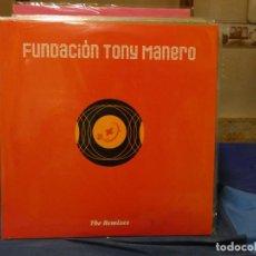 Discos de vinilo: MAXISINGLE 2003 FUNDACION TONY MANERO REMIXES MUY BUEN ESTADO. Lote 271672873
