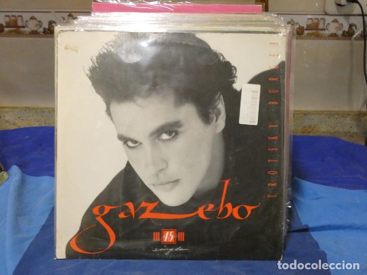 MAXISINGLE SONIDO SABADELL GAZEBO TROTSKY BURGER 1986 BUEN ESTADO (Música - Discos - LP Vinilo - Jazz, Jazz-Rock, Blues y R&B)