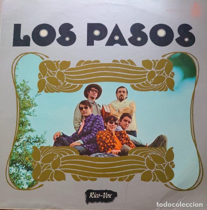 LOS PASOS LP SELLO RICO-VOX HISPAVOX EDITADO EN USA... (Música - Discos - LP Vinilo - Grupos Españoles de los 70 y 80)
