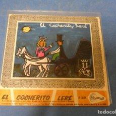 Discos de vinilo: EL COCHERITO LERE. SINTONIA 1968. EP RARO. SECCION FEMENINA FET Y LAS JONS. Lote 271695943