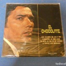 Discos de vinilo: EP EL CHOCOLATE QUE ALEGRIA ME DIO A MI BELTER 1972 BUEN ESTADO. Lote 271696098
