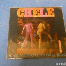 Discos de vinilo: EP CHELE Y SUS RUMBAS FLAMENCAS NO SE 1968 ESTADO CORRECTO. Lote 271696203