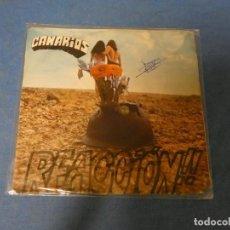Discos de vinilo: SINGLE CANARIOS REACCION 1971 BUEN ESTADO CON FIRMA EN PORTADA. Lote 271696473