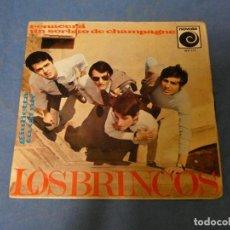 Discos de vinilo: EP LOS BRINCOS RENACERA BUEN ESTADO 1965. Lote 271697028