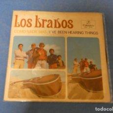 Discos de vinilo: SINGLE LOS BRAVOS COMO NADIE MAS 1967 MUY BONITO Y CON TRICENTRO 13. Lote 271698088