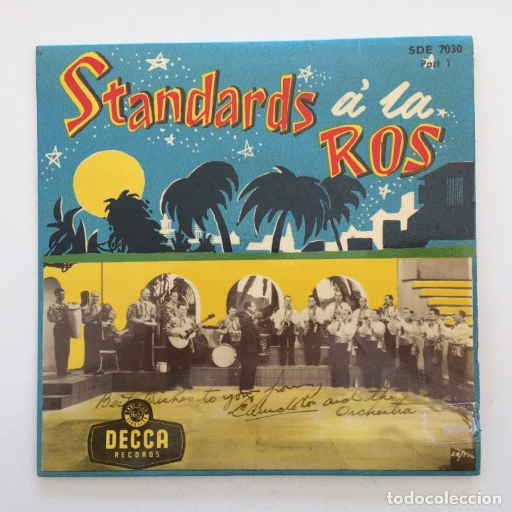 Discos de vinilo: Edmundo Ros & His Orchestra – Standards á la Ros (Parts 1-2-3) 3 eps Sweden,1956 DECCA - Foto 2 - 271698938