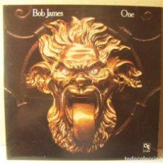 Discos de vinilo: LP BOB JAMES - ONE - CTI 6043. Lote 271699383