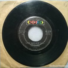 Discos de vinilo: THE DUPREES. GONE WITH THE WIND/ LET'S MAKE LOVE AGAIN. COED, USA 1963 SINGLE. Lote 271700908