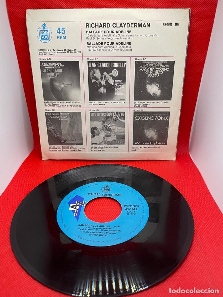 Discos de vinilo: RICHARD CLAYDERMAN - BALLADE POUR ADELINE - DECCA - 1977 - Foto 2 - 271708333
