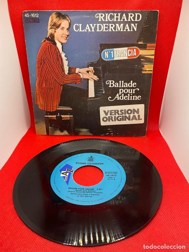 RICHARD CLAYDERMAN - BALLADE POUR ADELINE - DECCA - 1977 (Música - Discos - Singles Vinilo - Clásica, Ópera, Zarzuela y Marchas)