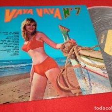 Disques de vinyle: VAYA VAYA N 7 LP 1970 PALOBAL SEXY NUDE COVER ESPAÑA SPAIN. Lote 271823993