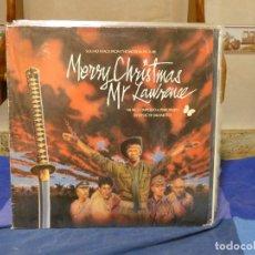 Disques de vinyle: LP BSO MERY CHRISTMAS MR LAWRENCE RYUICHI SAKAMOTO VINILO DECENTE MICROLINEAS. Lote 271853483