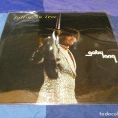 Disques de vinyle: LP FUNK SOUL GABY LANG FALLING IN LOVE WITH 1979 BUEN ESTADO. Lote 271867568