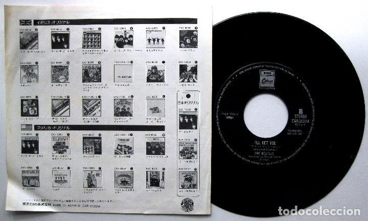 Discos de vinilo: The Beatles - She Loves You - Single Emi Odeon 1977 Japan (Edición Japonesa) BPY - Foto 2 - 271877968