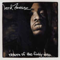 Disques de vinyle: LP LORD FINESSE - RETURN OF THE FUNKY MAN - GIANT RECORDS 7599-24437-1 - REEDICION - NUEVO !!!*. Lote 271896148