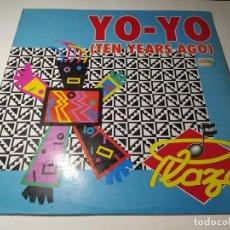 Dischi in vinile: MAXI - PLAZA – YO-YO (TEN YEARS AGO) - SPX - 118 (VG+ / VG+) SPAIN 1990. Lote 271898728