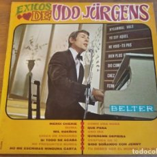 Disques de vinyle: UDO JURGENS - ÉXITOS DE UDO JÜRGENS ********* MEGA RARO LP ESPAÑOL 1968 GRAN ESTADO. Lote 271900763