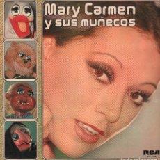 Discos de vinilo: MARY CARMEN Y SUS MUÑECOS - EN EL ENSAYO, EN LA FERIA.../ LP RCA 1976 / BUEN ESTADO RF-9756. Lote 271929633