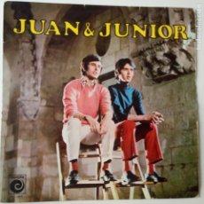 Discos de vinilo: JUAN & JUNIOR- LP 1969- NOVOLA - LOS BRINCOS.. Lote 271934318