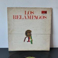 Discos de vinilo: LOS RELAMPAGOS. 6 PISTAS. 1966. ESP. Lote 271935513
