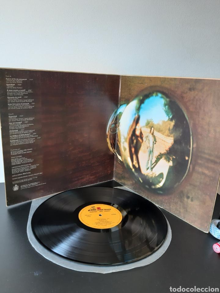 Discos de vinilo: NEIL YOUNG. HARVEST. REPRISE. 1972. SPAIN. HRES 291-39. - Foto 2 - 271955418
