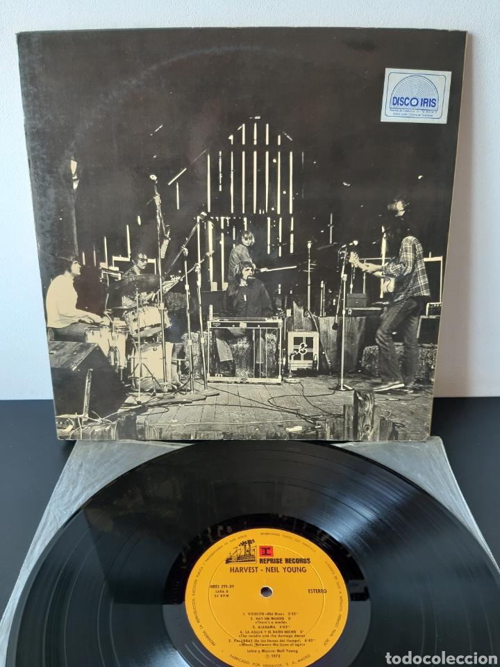 Discos de vinilo: NEIL YOUNG. HARVEST. REPRISE. 1972. SPAIN. HRES 291-39. - Foto 3 - 271955418